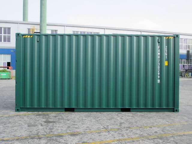20ft HC Green RAL6005 A1Containers (2)