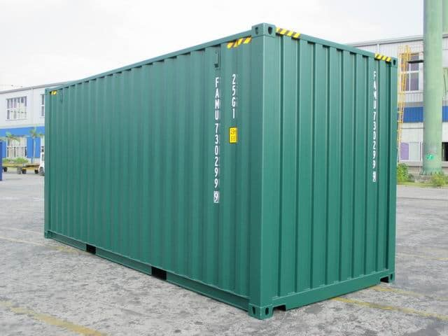 20ft HC Green RAL6005 A1Containers (3)