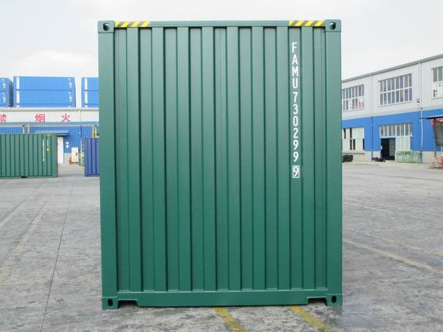 20ft HC Green RAL6005 A1Containers (4)