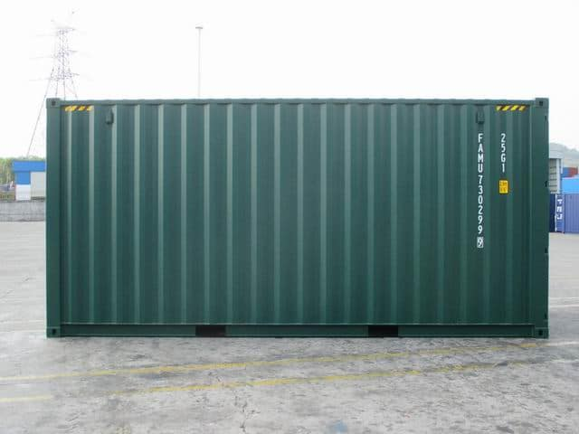 20ft HC Green RAL6005 A1Containers (6)