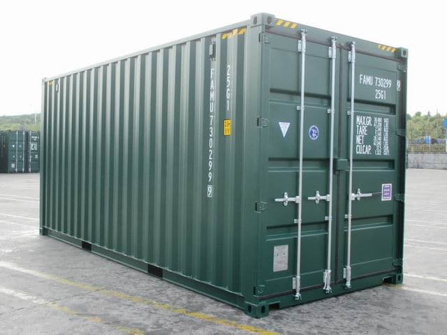 20ft HC Green RAL6005 A1Containers (7)