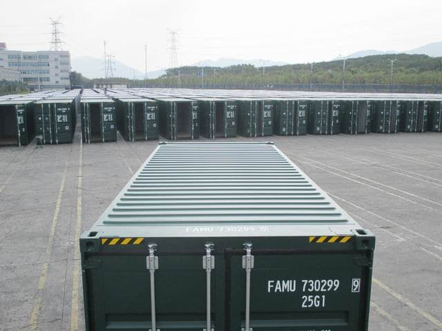 20ft HC Green RAL6005 A1Containers (8)