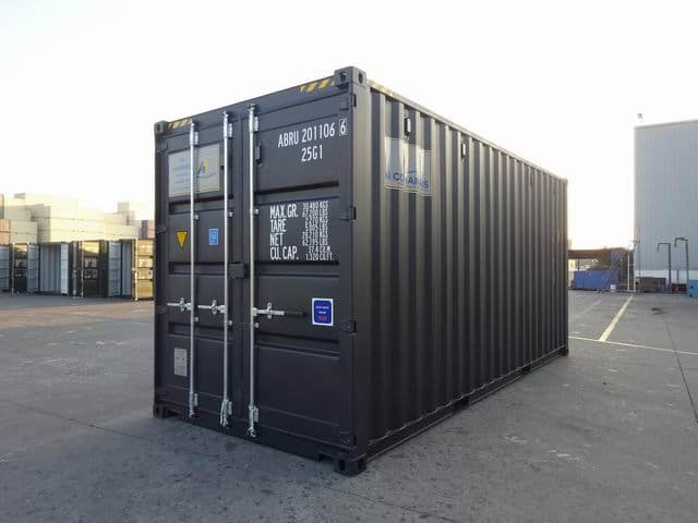 20ft High Cube EOD Black A1 Containers (1)