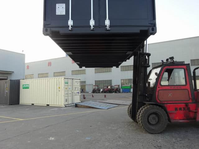 20ft High Cube EOD Black A1 Containers (11)