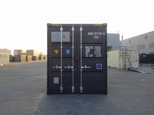 20ft High Cube EOD Black A1 Containers (13)