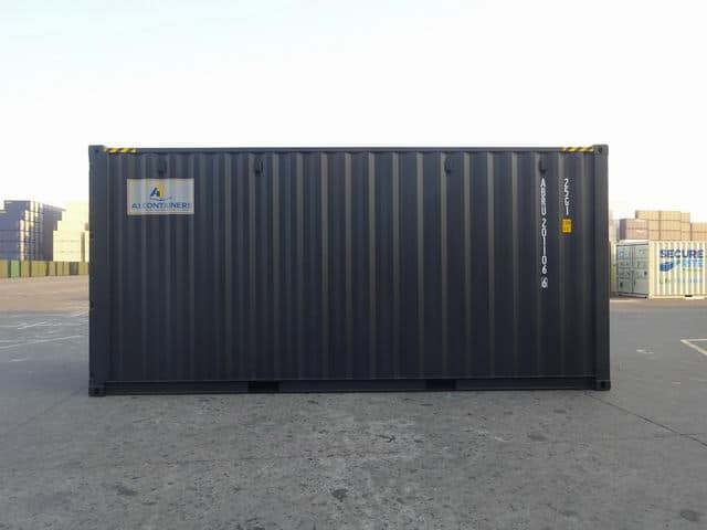 20ft High Cube EOD Black A1 Containers (2)