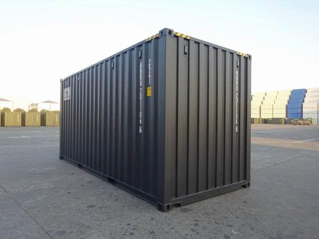 20ft High Cube EOD Black A1 Containers (3)