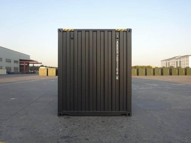 20ft High Cube EOD Black A1 Containers (4)