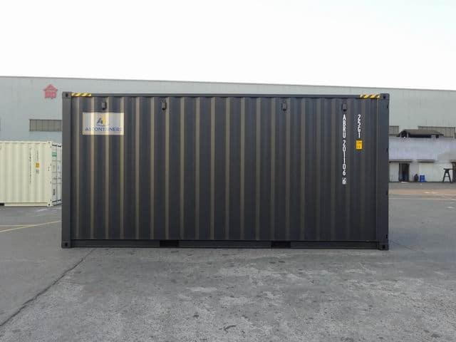 20ft High Cube EOD Black A1 Containers (6)