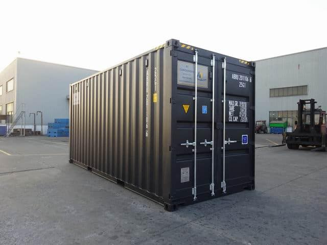20ft High Cube EOD Black A1 Containers (7)