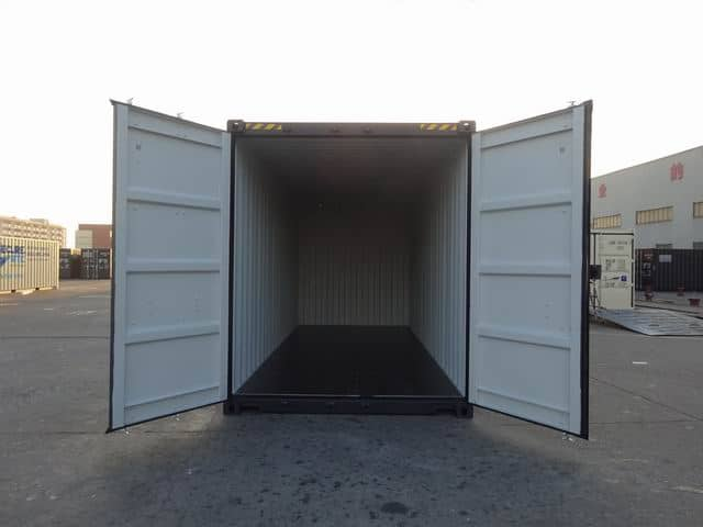 20ft High Cube EOD Black A1 Containers (8)