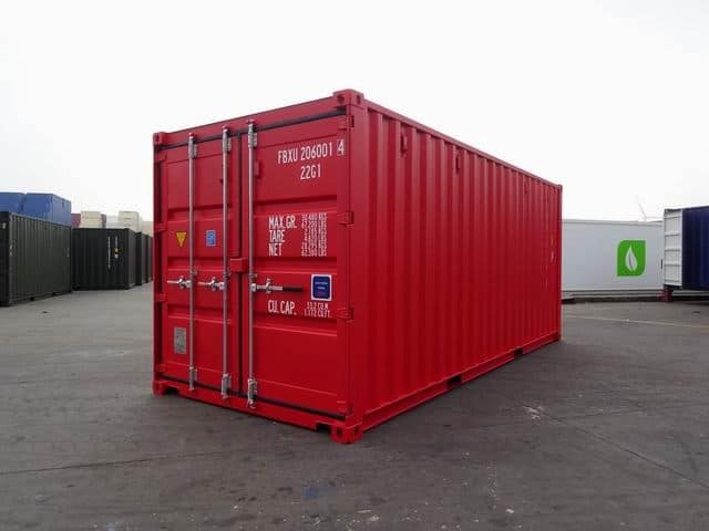 20ft Std NB EOD Red - A1 Containers (1)