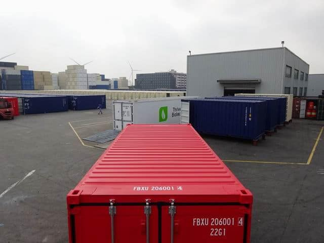 20ft Std NB EOD Red - A1 Containers (10)