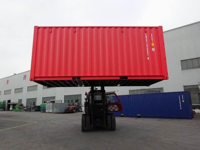 20ft Std NB EOD Red - A1 Containers (12)