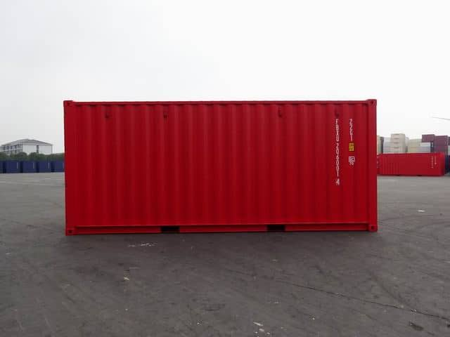 20ft Std NB EOD Red - A1 Containers (2)