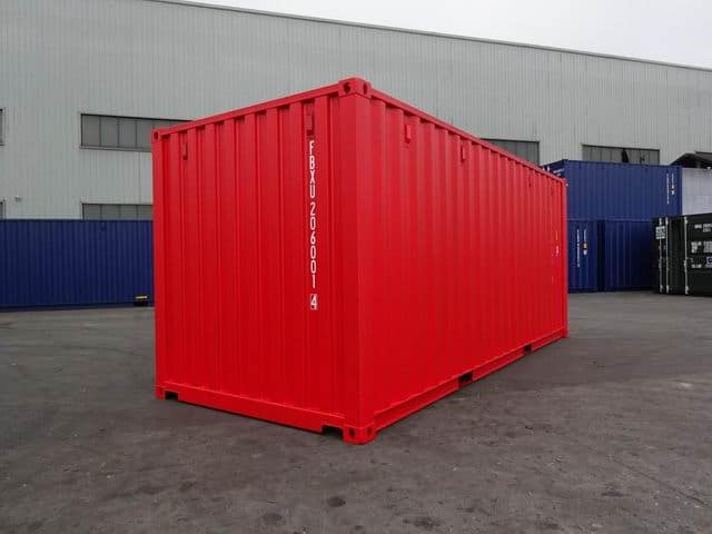 20ft Std NB EOD Red - A1 Containers (5)