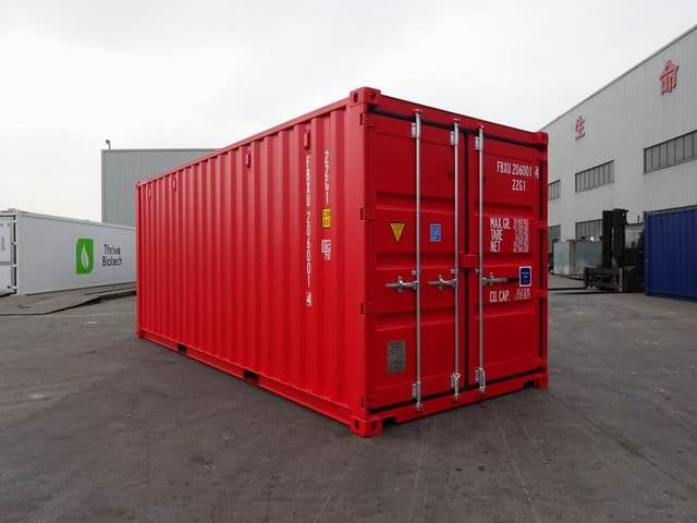 20ft Std NB EOD Red - A1 Containers (7)