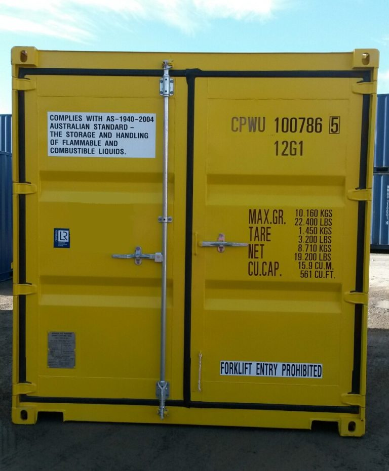 A1 Containers 10ft Std DG NB (1)