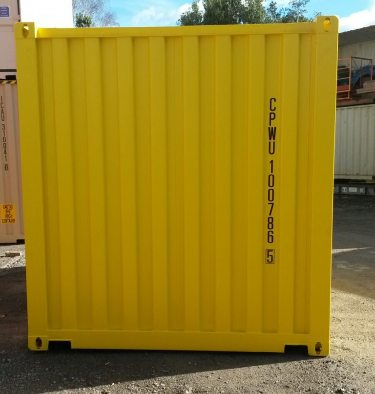A1 Containers 10ft Std DG NB (2)