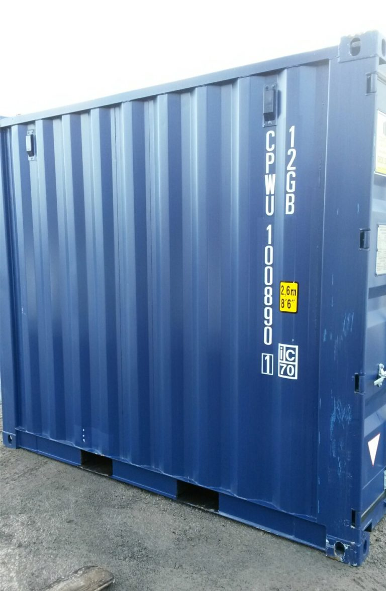 A1 Containers 10ft Std NB - Blue (1)