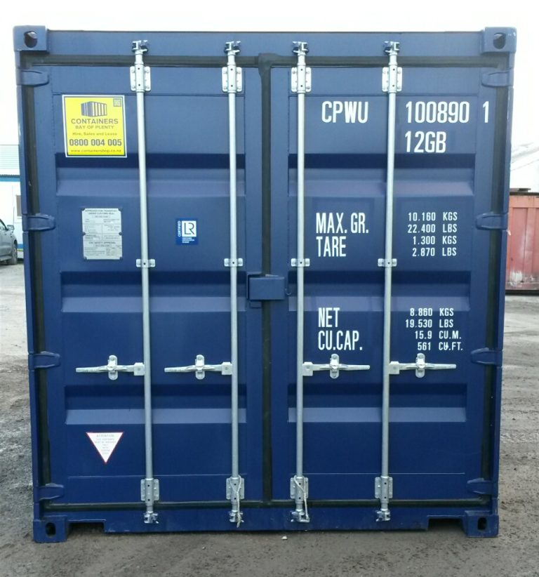A1 Containers 10ft Std NB - Blue (2)