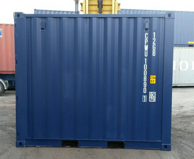 A1 Containers 10ft Std NB - Blue (3)