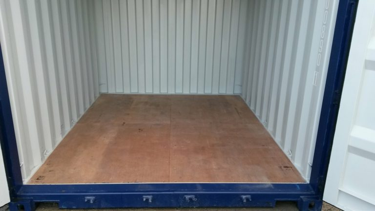A1 Containers 10ft Std NB - Blue (5)