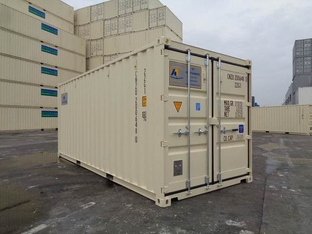 A1 Containers 20ft Std Beige EOD (1)