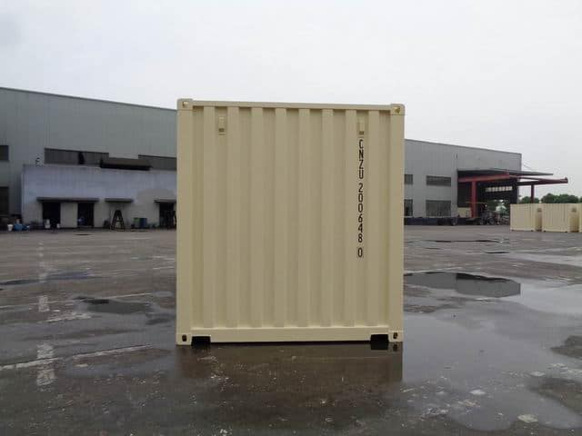A1 Containers 20ft Std Beige EOD (12)