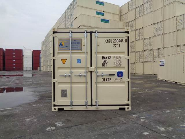 A1 Containers 20ft Std Beige EOD (8)