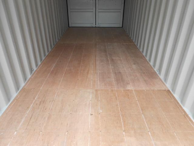 A1 Containers 20ft Std Double Door Green Easy Door FB (11)