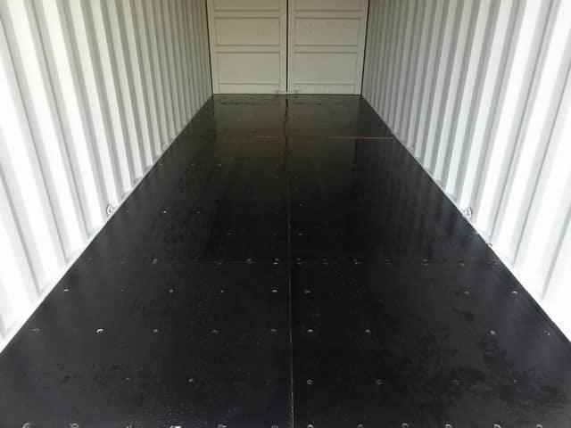 A1 Containers 20ft Std EOD Double Door Beige (10)