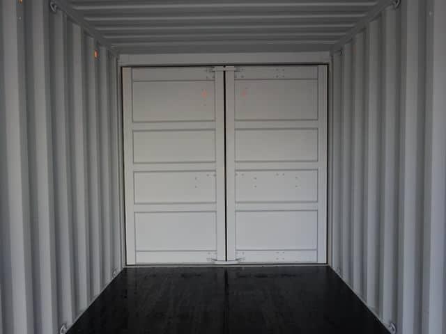 A1 Containers 20ft Std EOD Double Door Beige (11)