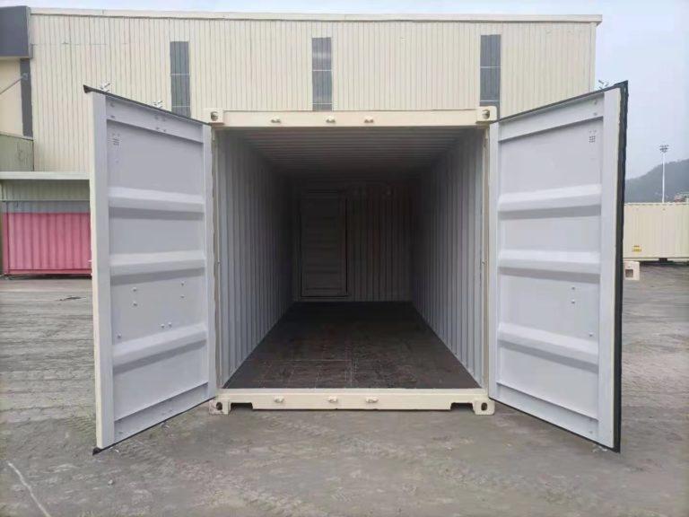 A1 Containers 20ft Std EOD - TRI Door Beige (10)