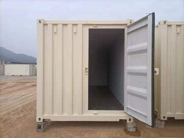 A1 Containers 20ft Std EOD - TRI Door Beige (11)