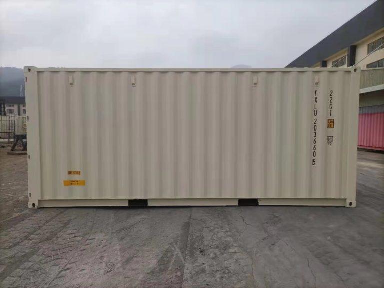 A1 Containers 20ft Std EOD - TRI Door Beige (6)