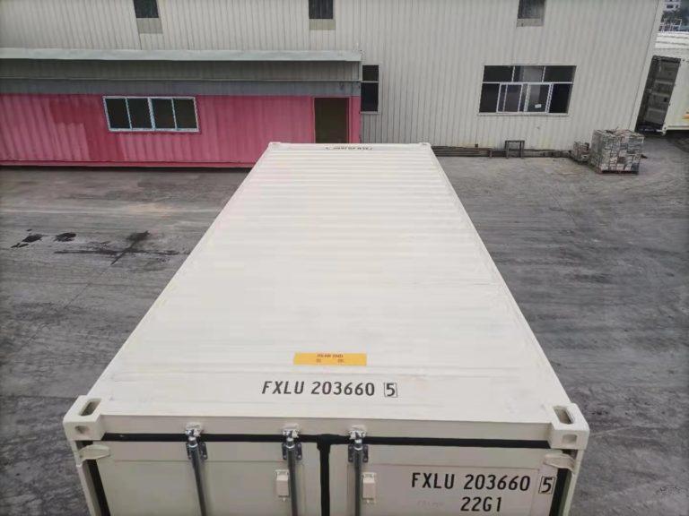 A1 Containers 20ft Std EOD - TRI Door Beige (7)