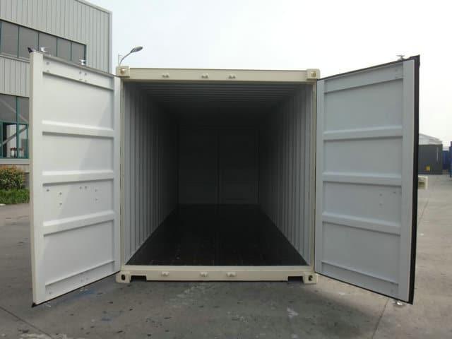 A1 Containers 20ft Std NB Beige - Easy door (10)