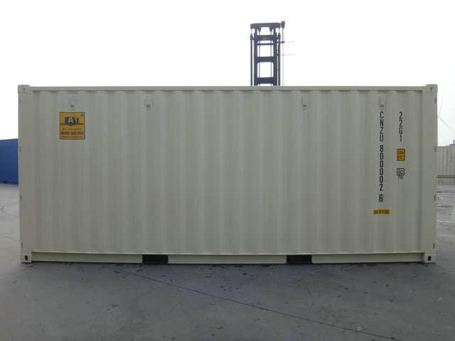 A1 Containers 20ft Std NB Beige - Easy door (3)