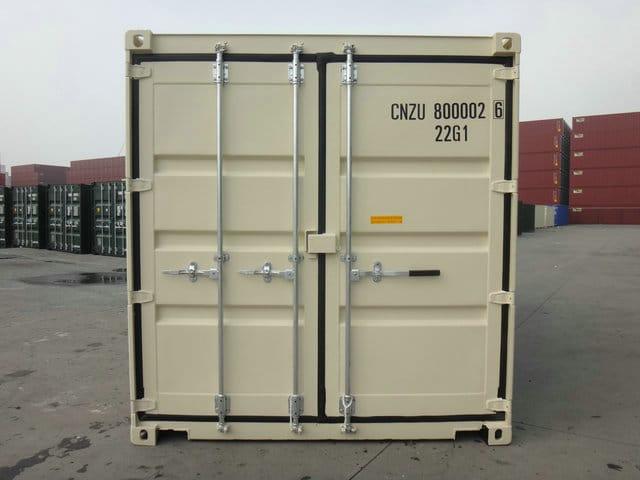 A1 Containers 20ft Std NB Beige - Easy door (5)