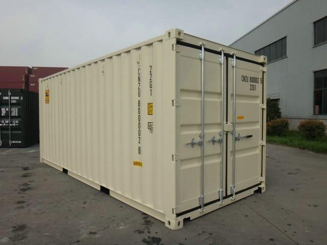 A1 Containers 20ft Std NB Beige - Easy door (6)