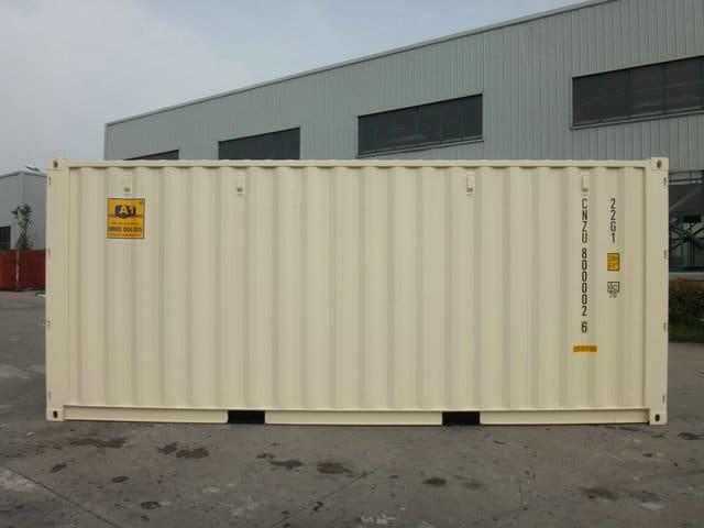 A1 Containers 20ft Std NB Beige - Easy door (7)
