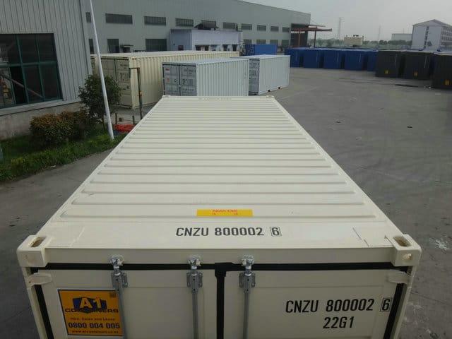 A1 Containers 20ft Std NB Beige - Easy door (9)