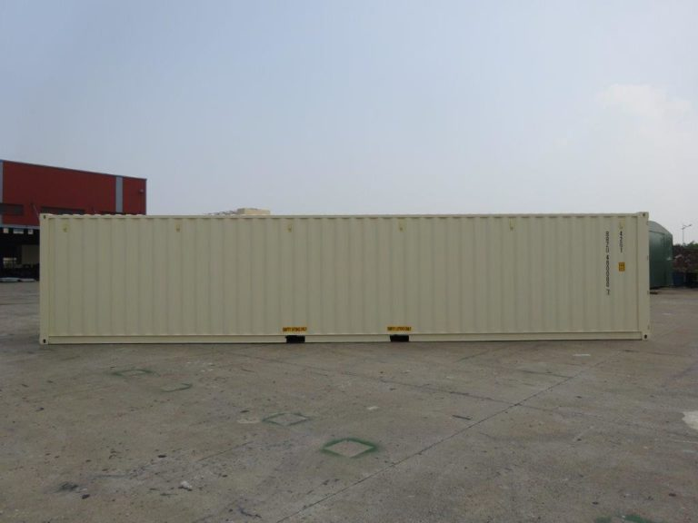 A1 Containers 40ft Std EOD Beige (2)