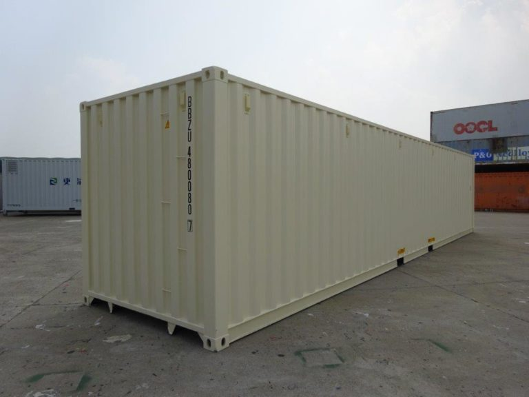 A1 Containers 40ft Std EOD Beige (3)
