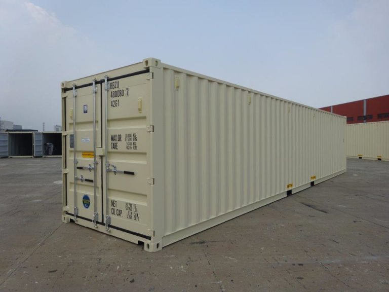 A1 Containers 40ft Std EOD Beige (5)