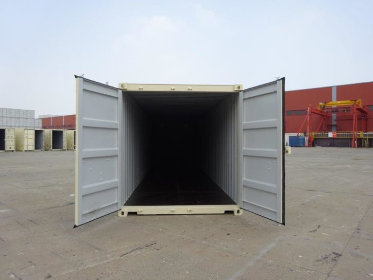A1 Containers 40ft Std EOD Beige (6)
