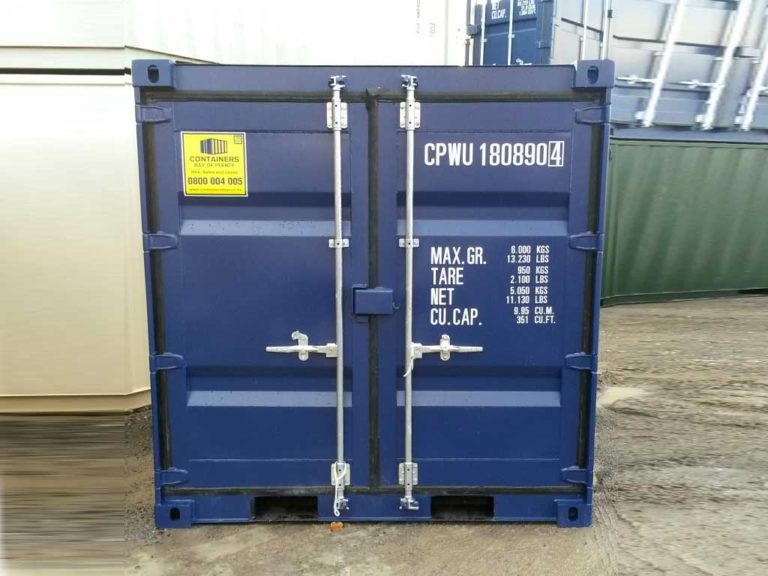 A1-Containers-8ft-Container-NB-Blue-1