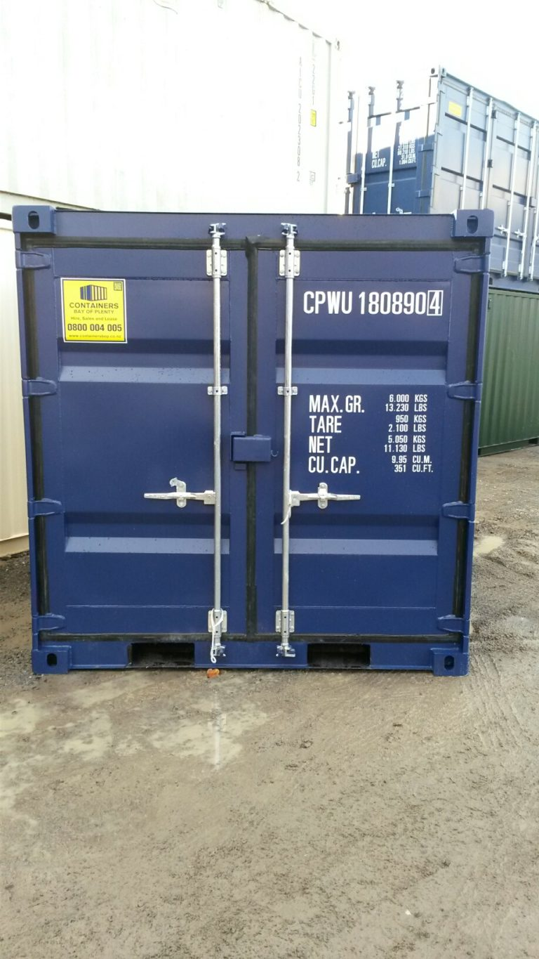A1 Containers 8ft Container NB - Blue (1)