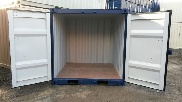 A1 Containers 8ft Container NB - Blue (2)